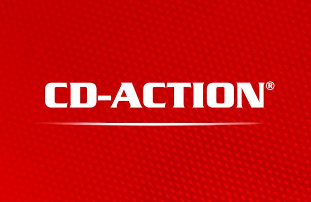 CD-Action logo z R i podkresleniem