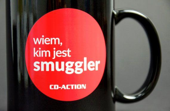"""Kubek ceramiczny """"Wiem, kim jest Smuggler"""", czarny"""