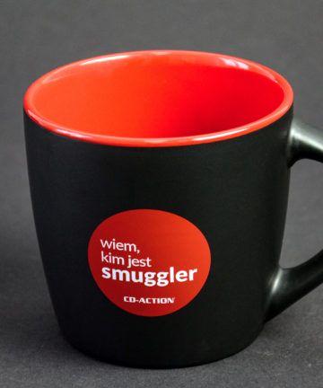 """Kubek ceramiczny premium """"Wiem, kim jest Smuggler"""", czarny"""