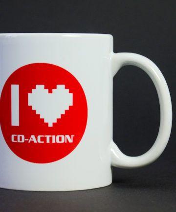 Kubek ceramiczny I Love CD-Action