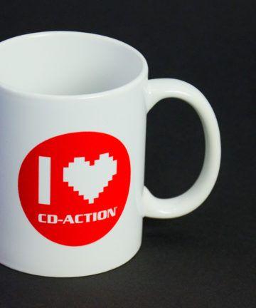 Kubek ceramiczny z I Love CD-Action