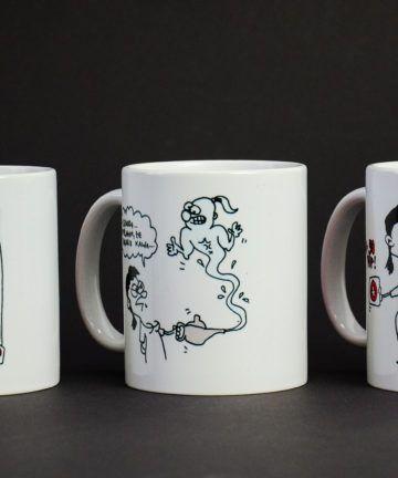 Kubki ceramiczne z Klarą