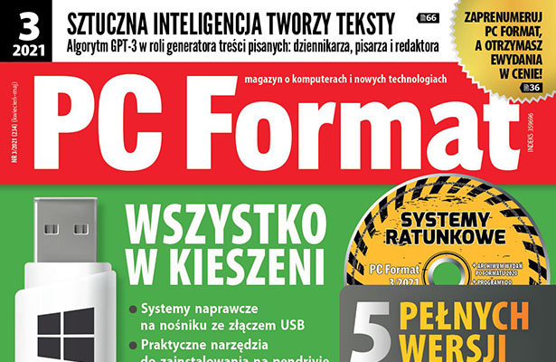PC Format 03/2021 góra okładki