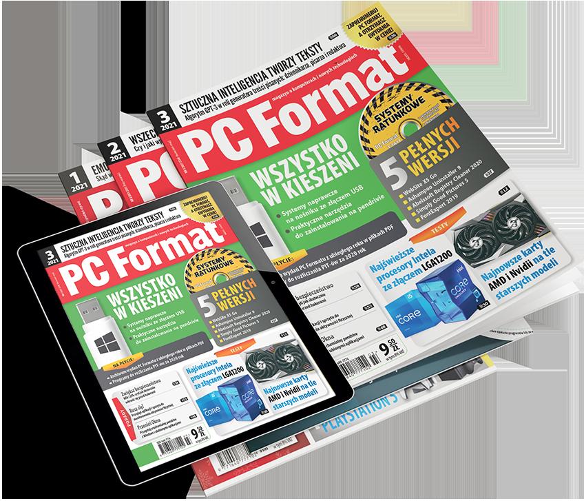 PC Format, prenumerata, ewydanie