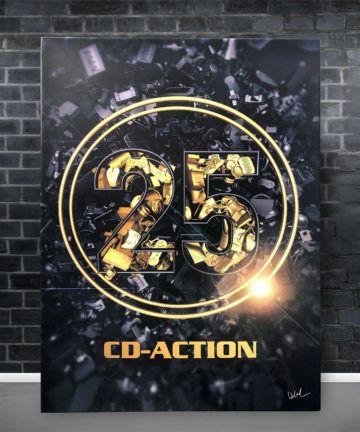 Metalowy plakta, 25-lat CD-Action, edycja limitowana