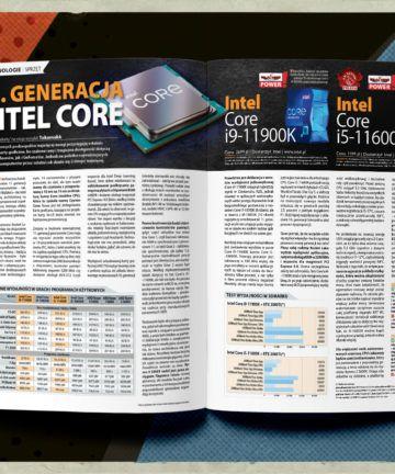 CD-Action 05/2021, rozkładówka, Intel Core