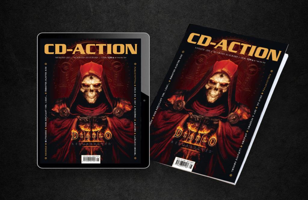 Magazyn CD-Action 06/2021, ewydanie, wydanie cyfrowe, okładka