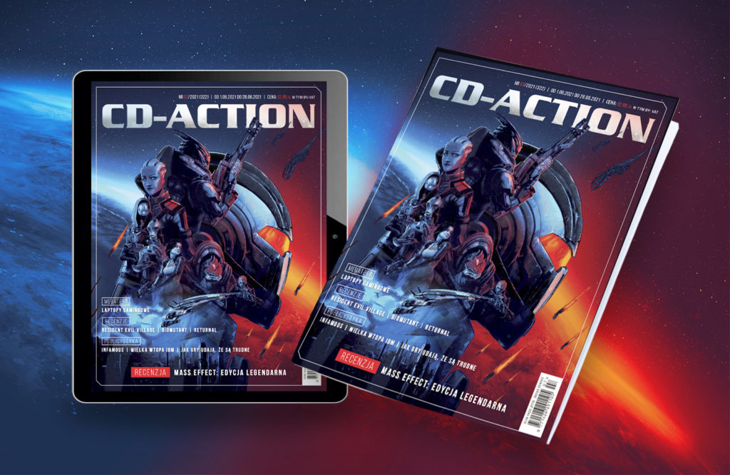 CD-Action 07/2021 okładki