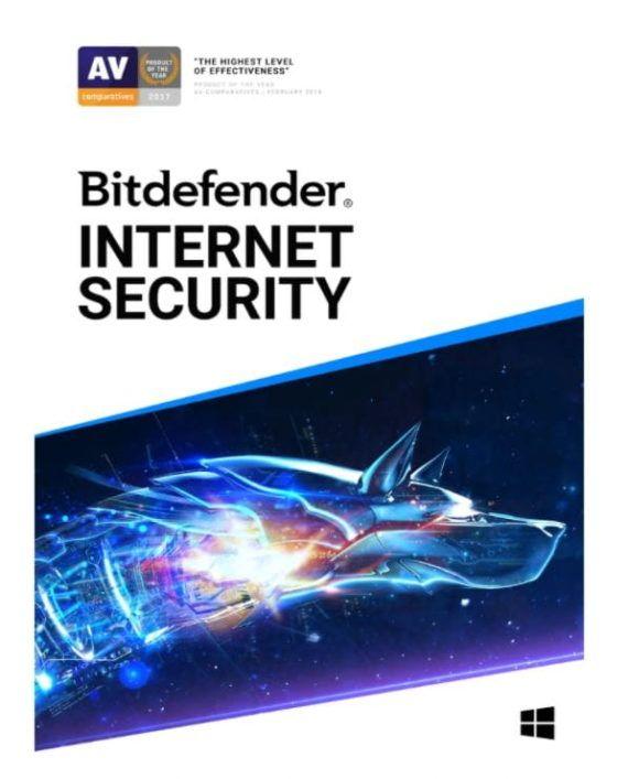 Bitdefender Internet Security pudełko box pl