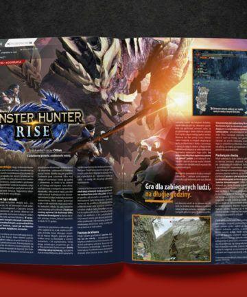 CD-Action 06/2021, ewydanie, wydanie cyfrowe, monster hunter rise