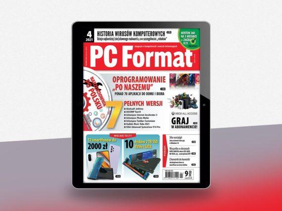 PC Format 04/2021 okładka ewydania