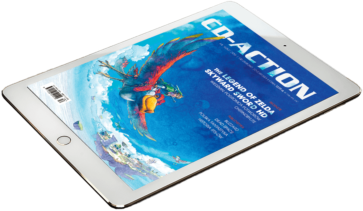 CD-Action 10/2021, ewydanie, wydanie cyfrowe, tablet