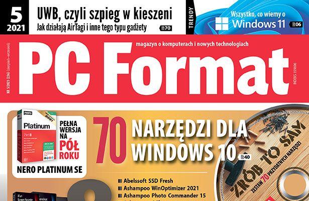PC Format 5/2021 nagłówek